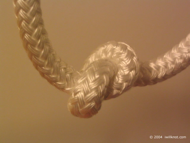Overhand Knot -- I Will Knot!