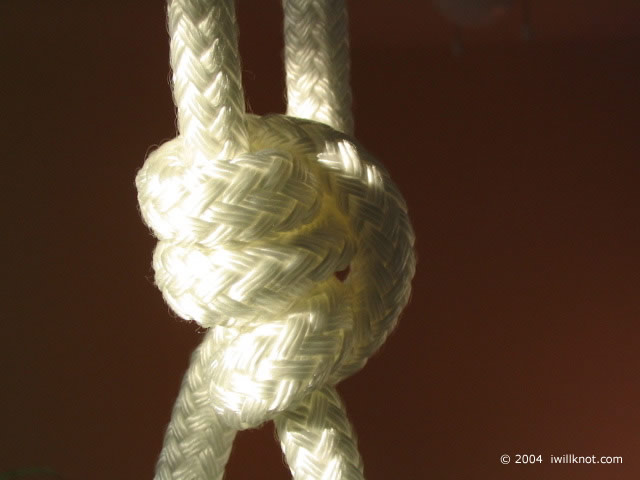Taut Line -- I Will Knot!